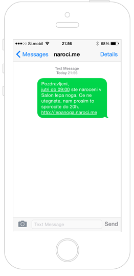Avtomatizirana komunikacija s strankami